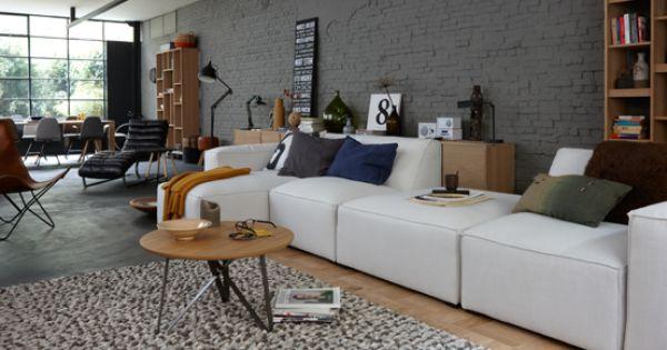 Woonkamer inspiratie #tafel #salontafel  Home - living room ...