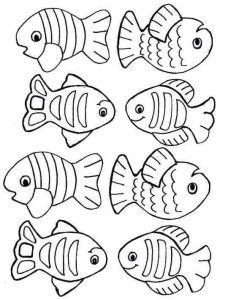 Balik Avi Oyunu Etkinligi1 Boyama Sayfalari Kids Crafts Desenler