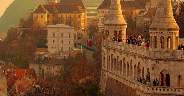 Fairy tale Budapest, Hungary