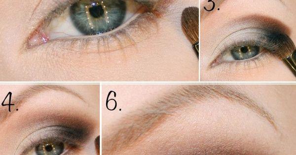 Brown Eyeshadow - Make Up Tutorial