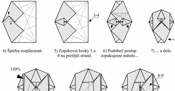 understandable modular origami diagrams