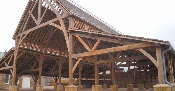Penistone Public Market A Large Timber Frame New Build