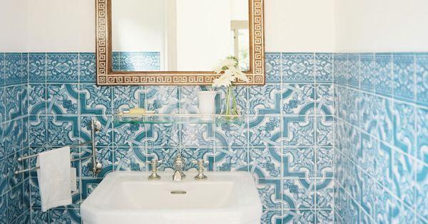 Mark d sikes interior design bathhh pinterest casa for El rey de los azulejos