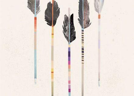 Flèche  ARTATTOO  Pinterest  Lunettes de soleil, Aquarelle et ...