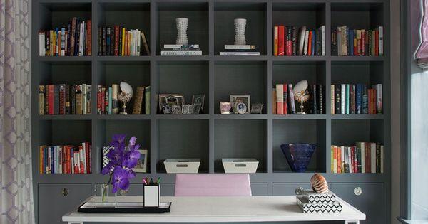 Billy Bookcase Desk: Ikea Billy Bookcase Hack Desk Wall Unit