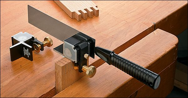 Veritas Right Angle Saw Guide With Saw Wood Turning Wood Tools Woodworking