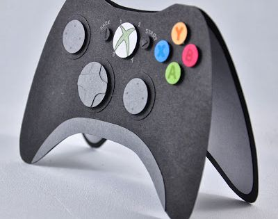 Xbox 360 Controller Card Stampin Up Pinterest Xbox