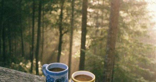 coffee and a view for me and for you.