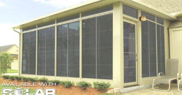 Screenrooms Drake Siding And Sunrooms Porch Enclosures Sunroom Porch