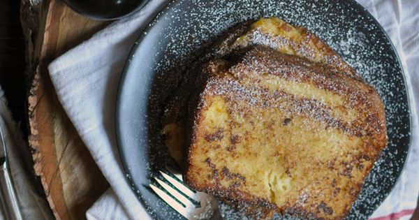 Decadent Custard Orange-Vanilla Brioche French Toast: Christmas Morning | Turntable Kitchen