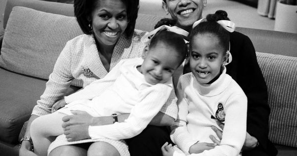 Barack Obama Michelle Obama family