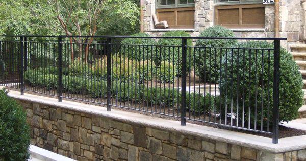 Hercules Custom Iron Fences Backyard Retaining Walls Patio Railing Iron Fence