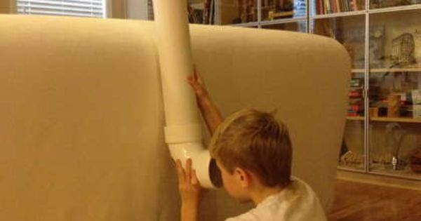 A periscope from a pvc pipe. | 39 Coolest Kids Toys You