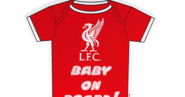 Liverpool F.C LITTLE LIVERBIRD Baby on Board Sign
