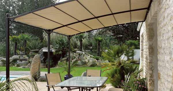 Toile Beige Pour Tonnelle Adoss E 3x4m Vision Maison Facile Terrasse