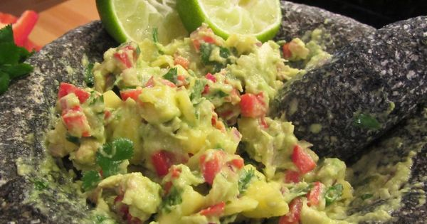 Can You Substitute Lime For Lemon In Guacamole Chunky Mango Guacamole With Images Food Appetizer Recipes Guacamole Recipe