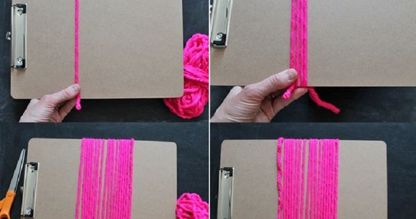 Attach some simple yarn tassels to your bedskirt - 14 Simple DIY