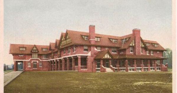 The Bisonte New Santa Fe Hotel Hutchinson Kansas Ks Postcard Harvey House House Restaurant Hotel