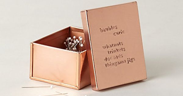Copper Desk Collection Anthropologie Copper Pinterest