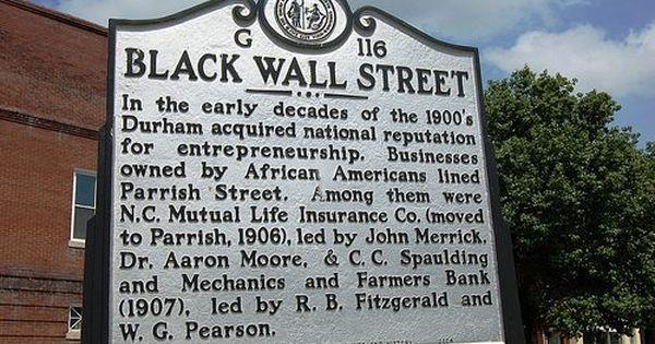Did You Know Durham North Carolina Had It S Own Black Wall Street