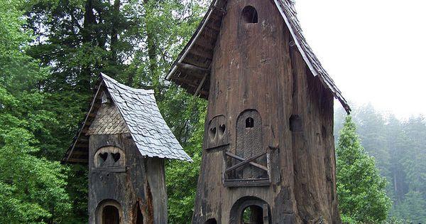 Redwood treehouses