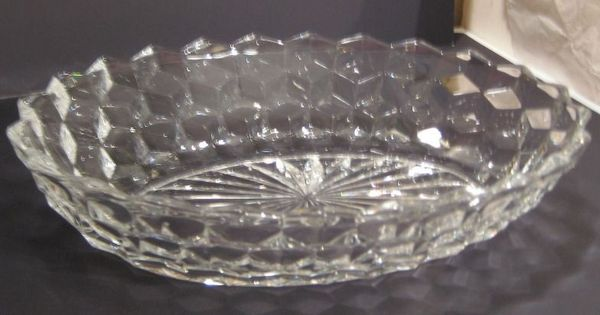 Fostoria American Oval Bowl Quot Glass Amp Pottery Vintage Quot By Gotvintage Shops Pinterest Bowls
