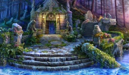 Colorful Fantasy Garden Wallpaper Google Search Fantasy Landscape Fantasy Pictures Digital Artwork