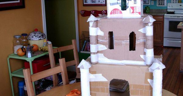 en carton puis recouvert de papier mache et peint | Kids - Crafts