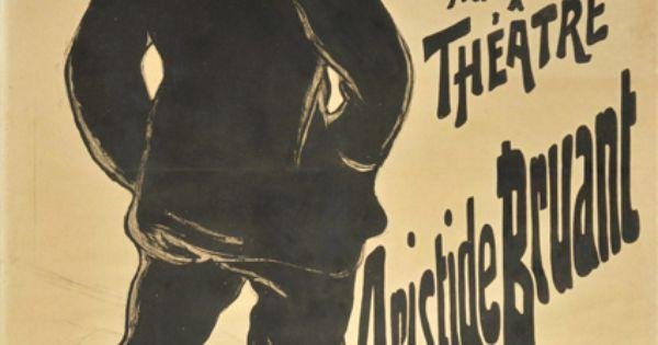Henri de toulouse lautrec aristide bruant dans son for Divan japonais poster value
