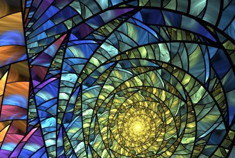 Stained Glass Look Leave The Lights On By