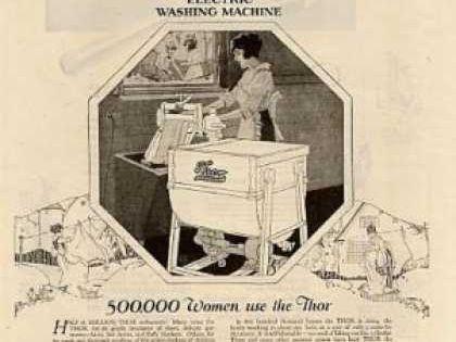 washing machine 1920s