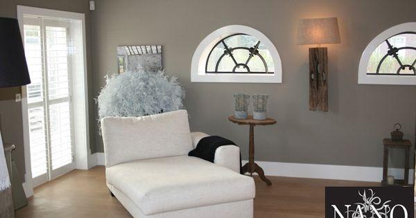 Mooie kleur muur fijne sfeer woonkamer pinterest muur kleur en muur kleuren - Sfeer en kleuren ...