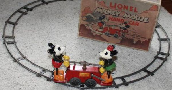 100 Years Of Lionel Trains The Lionel Mickey Minnie Pump Car