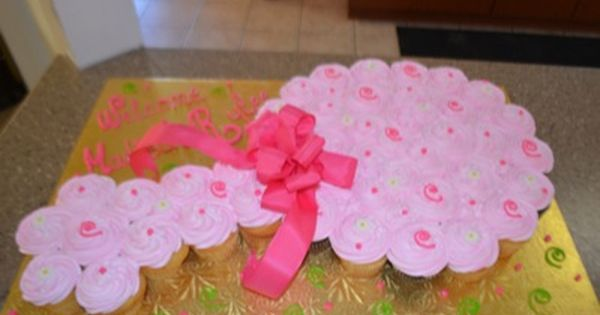 Cute Baby Shower Cupcake Idea Walmart Bakery Baby Cupcake Baby Shower Cupcakes