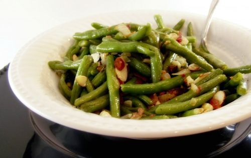 Green beans almondine, Green beans and Tasty kitchen on Pinterest