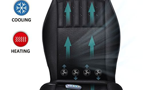 Snailax Cooling Seat Cushion 3 Car Fan Speeds Cooling 2 Levels