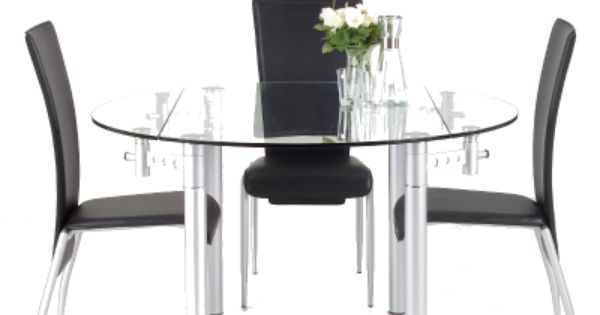 The actona palermo dining table a compact folding round 4 for 4 person dining table