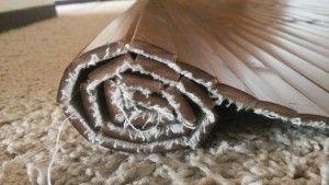 Best Flooring Over Carpet Solution Ever Skywaymom Carpet Solutions Carpet Dining Room Best Flooring