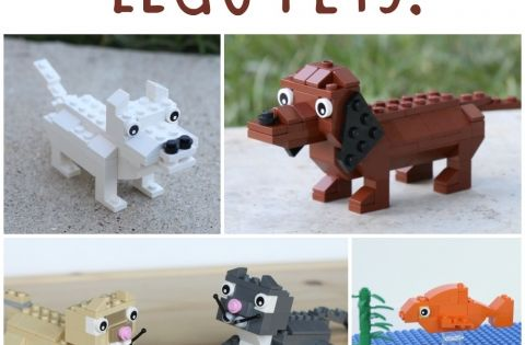 lego animal building instructions