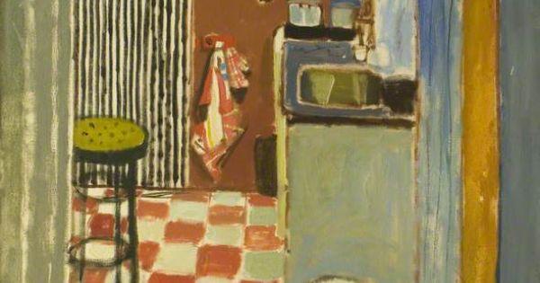 Peinture cossaise uk alberto morrocco 1968 the for Interieur maison 1960