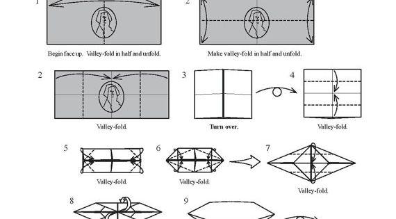 Money Origami Dollar Bill Art | Origami | Pinterest | Dollar-scheine ...