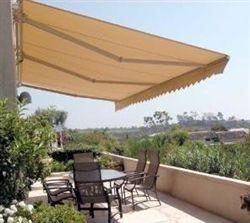 High Quality Beige 10 X 8 Retractable Patio Awning Canopy Toldo Para Patios Puertas Para Patios Toldo Retractil