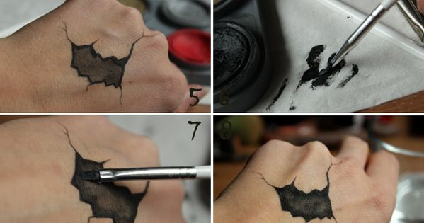 Tutorial – CRACKED DOLL EFFECT | Helen Torsgården