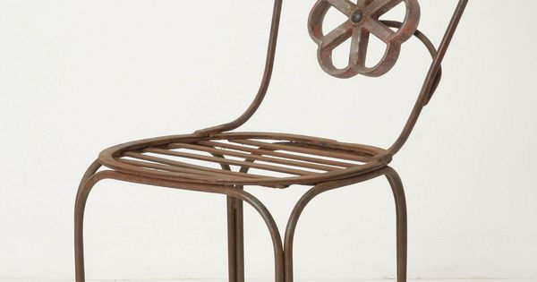 Blacksmith Blossom Outdoor Chair from Anthropologie
