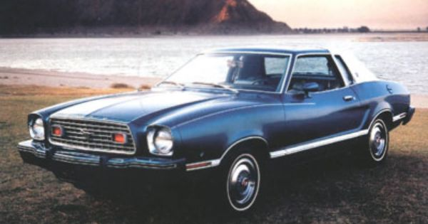 My All Time Favorite Car 1974 Ford Mustang Ii Mine Was Baby
