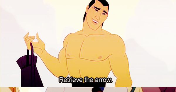 Mulan!! Funny quote!!