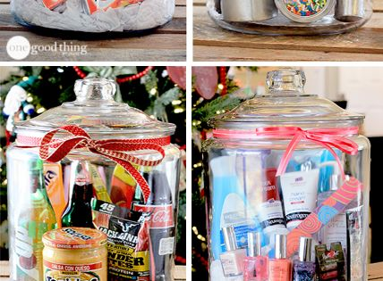 "Gifts In A Jar ~ Think outside the gift basket ""box!"" A"