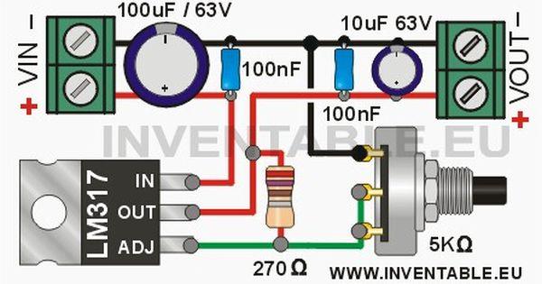 éste Es El Diagrama Del Regulador Caixa De Som Automotivo Projetos Elétricos Circuito Eletrônico
