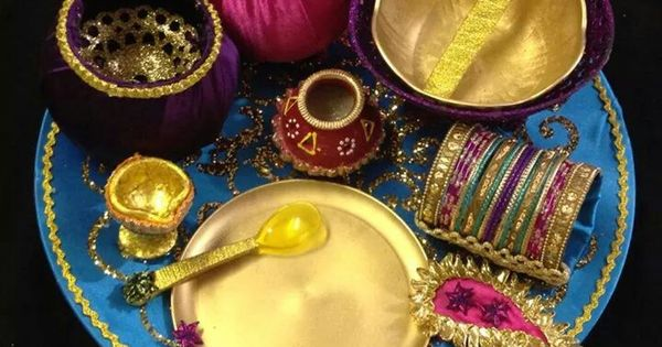 Mehndi Thaal Decoration Facebook : Mehndi thaal decoration pinterest trousseau