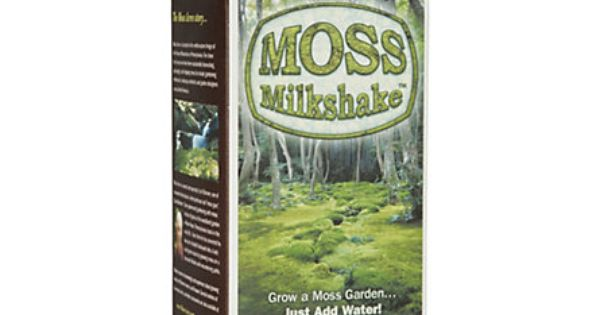 Moss Milkshake Moss Growing Formula - I think I need this for